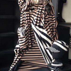 Mode von MilaStyle: Bauwolle und Streifen