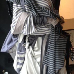 Baumwolle-Streifen-Look von MilaStyle