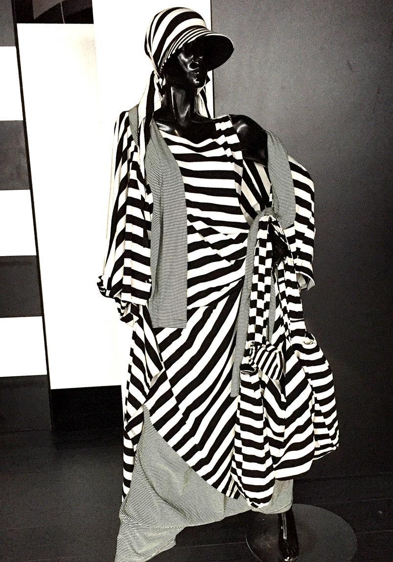 Puppe mit Mode von MilaStyle in schwarz-weiß